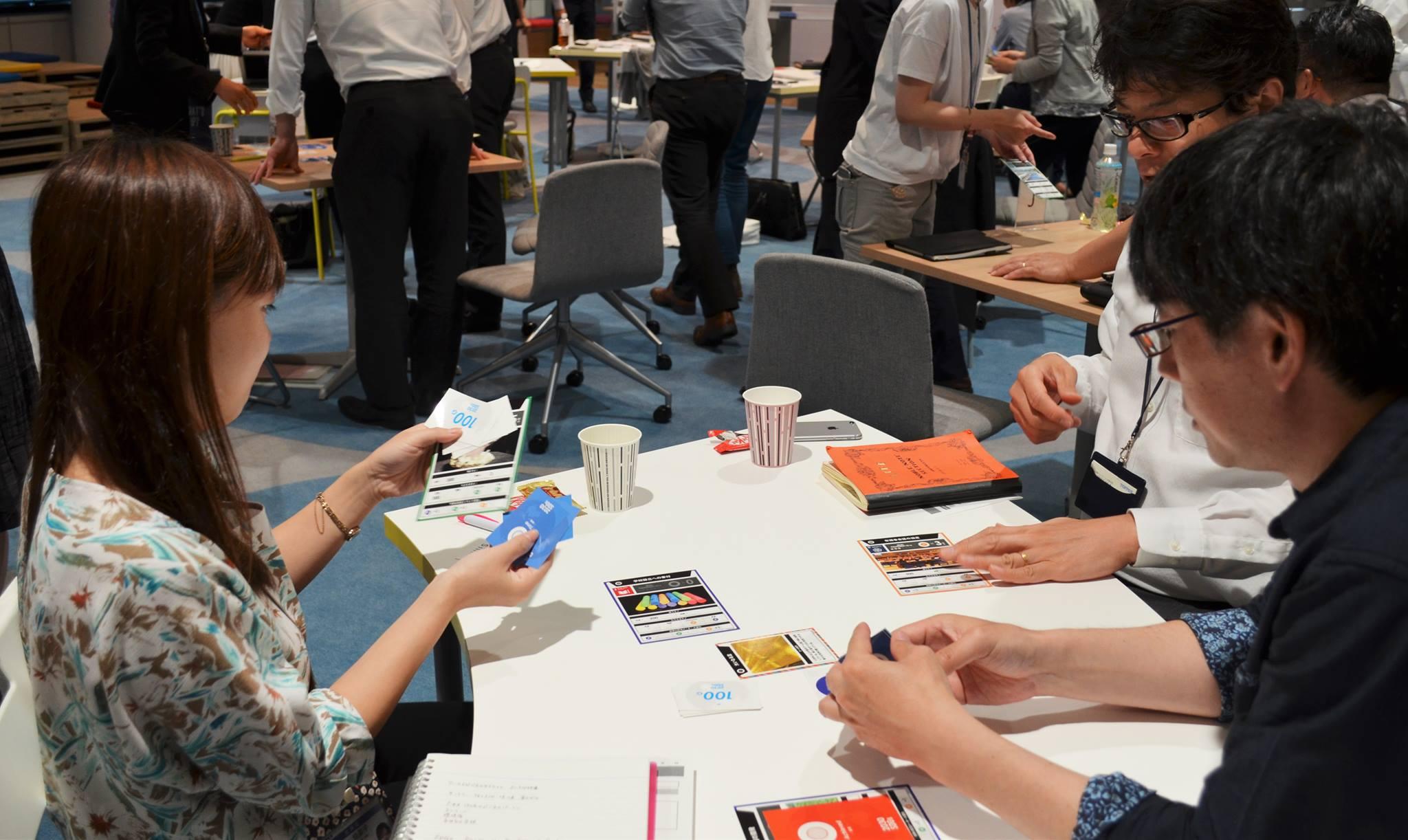 【満員御礼】カードゲームで世界を知り、2030年への時間を体験しよう ~2030SDGs~