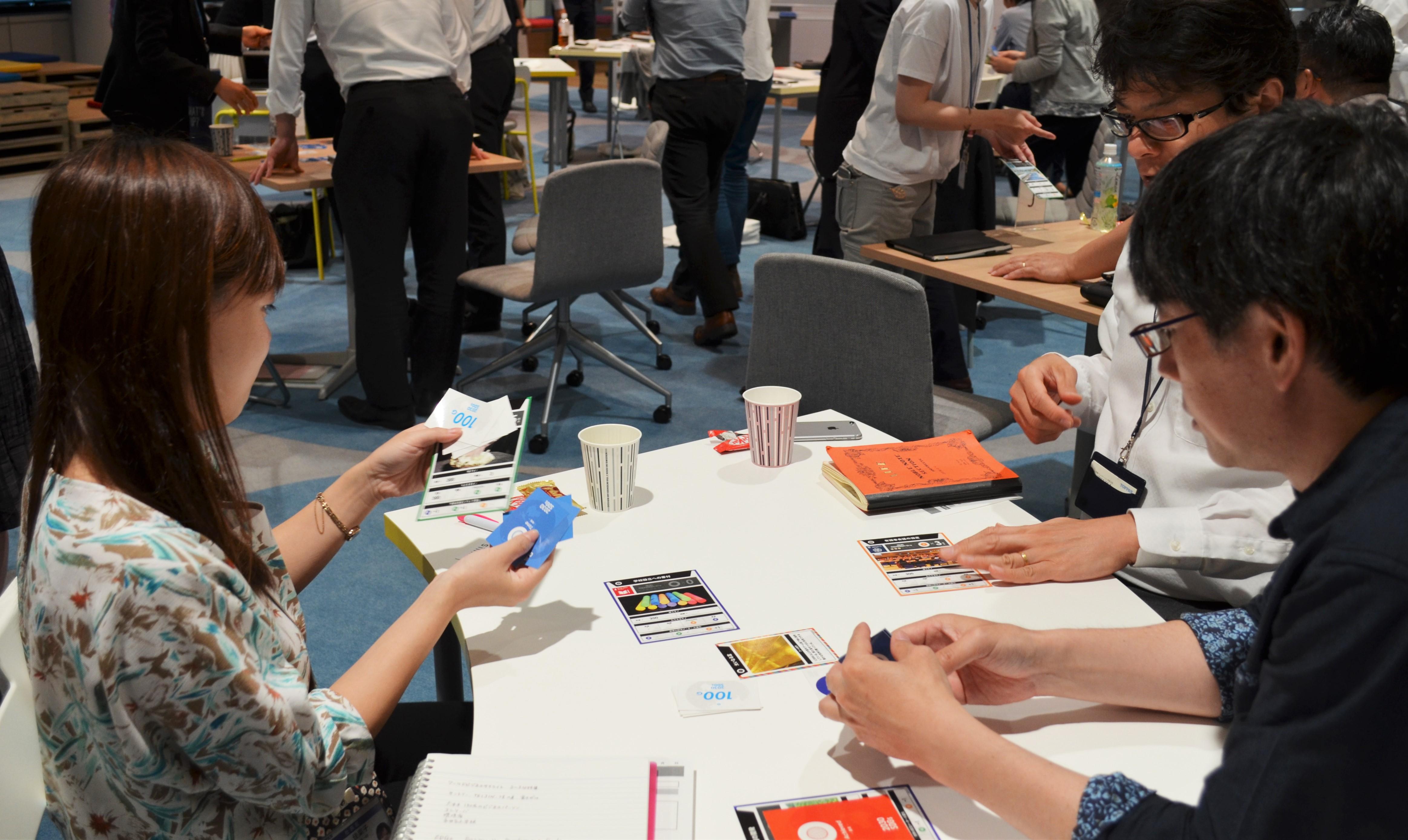 イマココラボ主催:SDGsカードゲーム ~ SDGsから生まれる世界の可能性 ~
