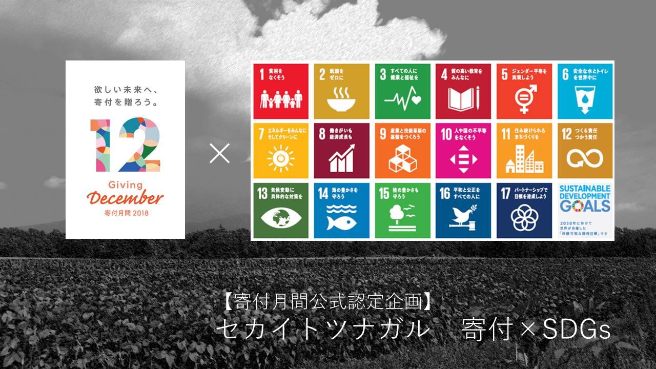 ◆寄付月間公式認定企画◆セカイトツナガル 寄付×SDGs ~「寄付の教室」「SDGsカードワークショップ」で世界のつながりを体感