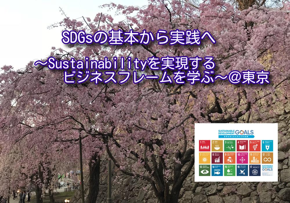 SDGsの基本から実践へ   〜Sustainabilityを実現するビジネスフレームを学ぶ〜 【2030SDGsカードゲーム体験あり】