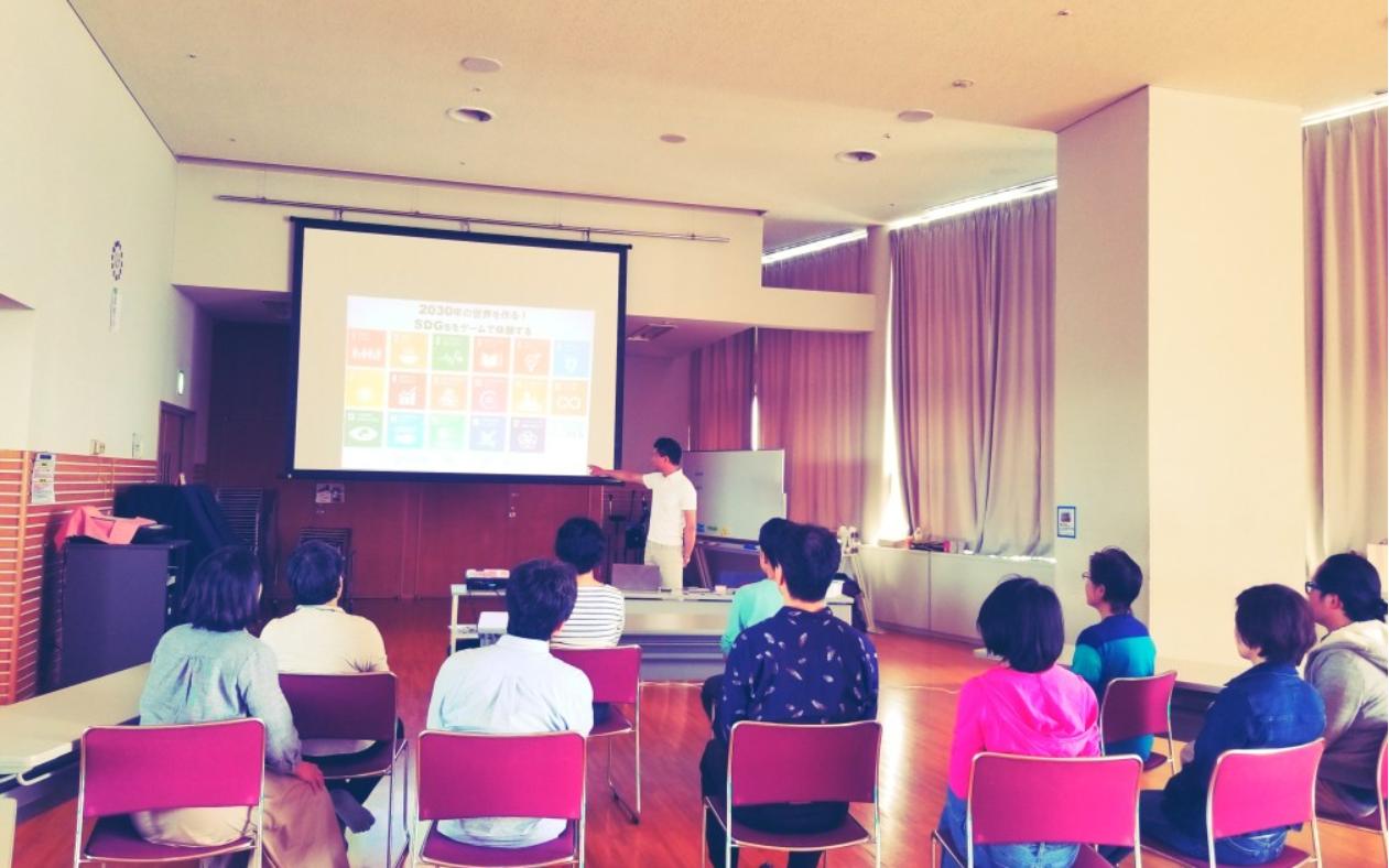 EARTH FAMILY project第2回 ~チベット体操&2030SDGsカードゲーム~