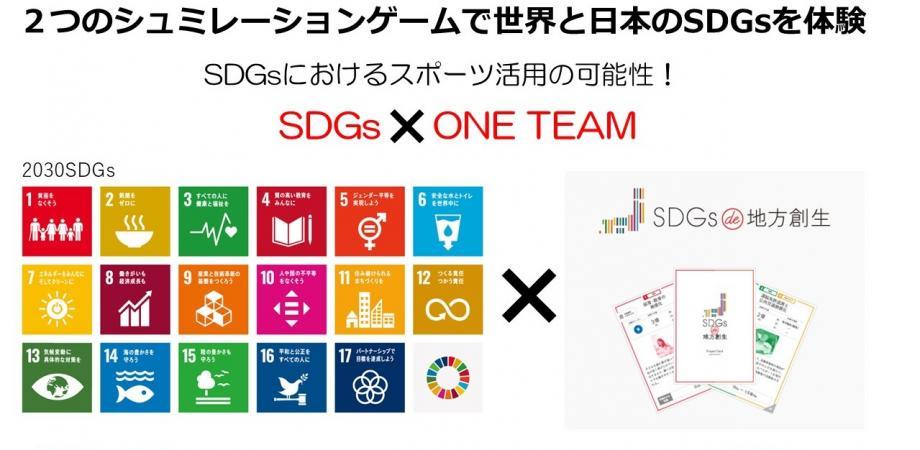 【7/25 東京開催】2つのカードゲームでSDGsを理解し、企業をワンチームにするスポーツの力で持続可能なビジネスの新境地へ※コロナ感染防止対策完備